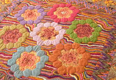 Dreamy Hexagons Medallion Quilt By Kaffe Fassett Creativebug